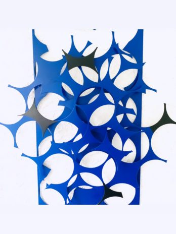 Ellipsis Abstract Modern Large Wall Sculpture