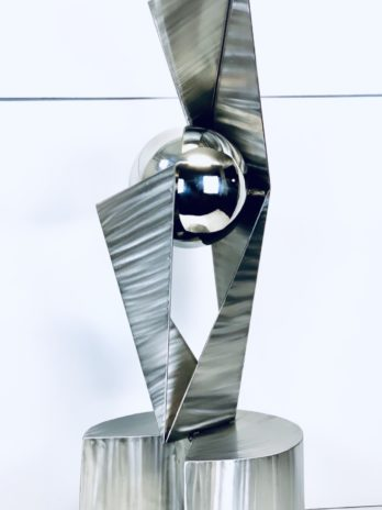 Di-Vine Large Outdoor Modern Stainless Steel Sculpture