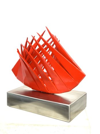 Red Oysters Table Top, Modern Sculpture